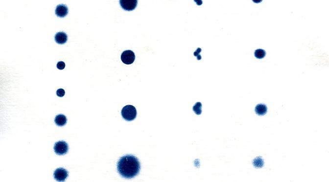 Autour du cyanotype – test de LED (UV et 6500K)